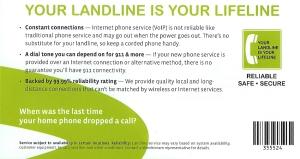landline mailer